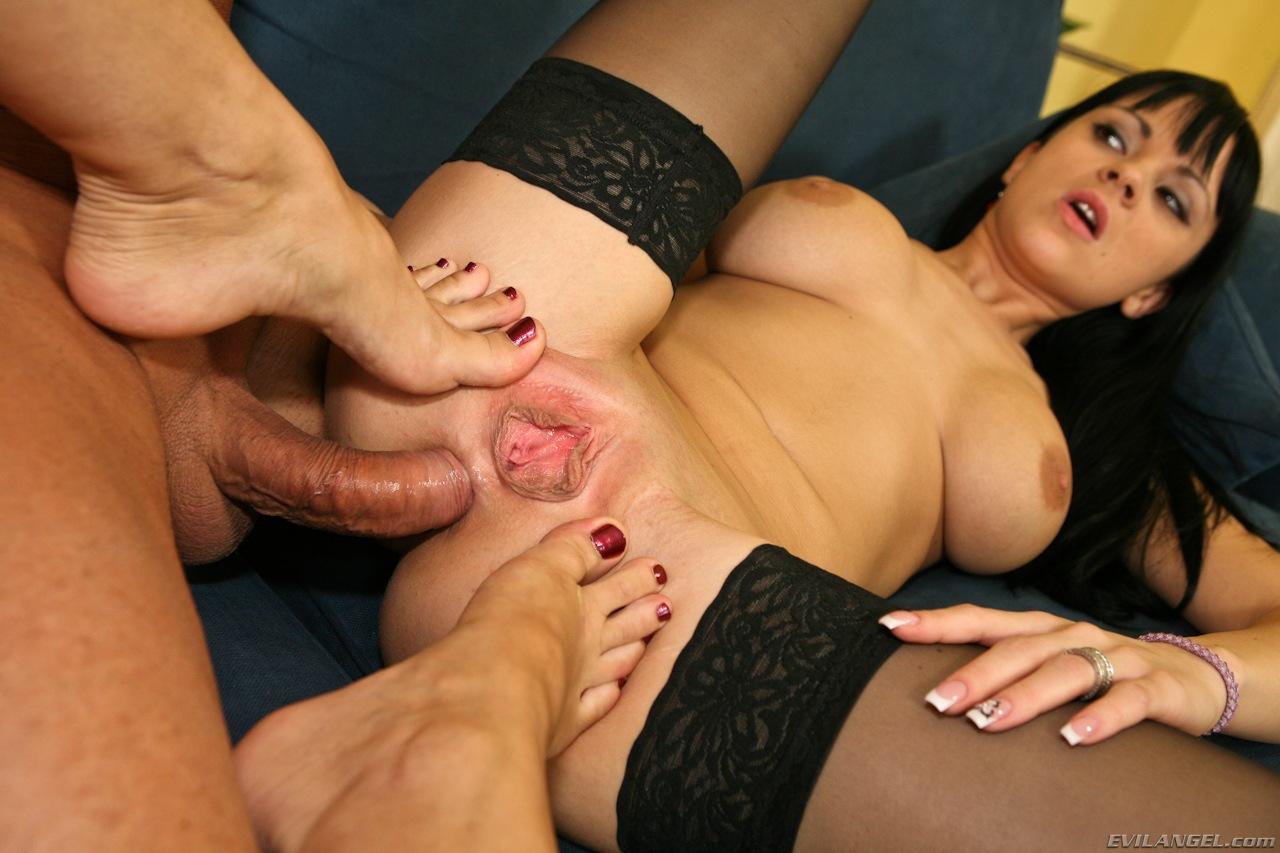 Teen Anal Threesome Strapon