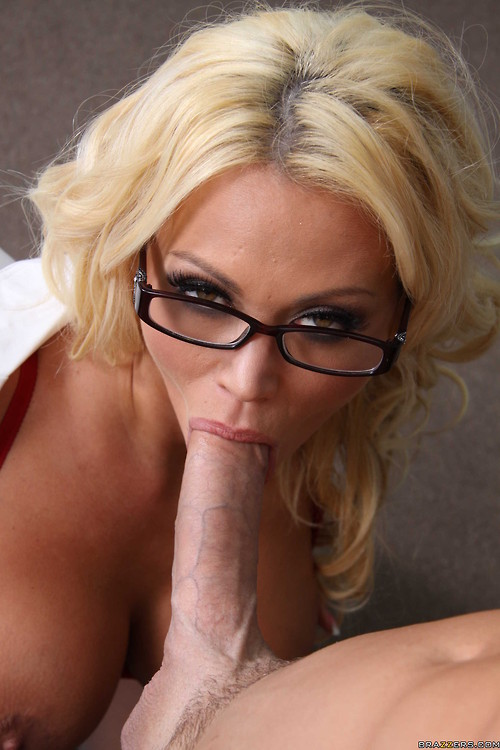 Busty librarian gets her big tits fucked 2