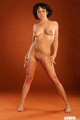 aarielle alexis is nude for ambya nude heat