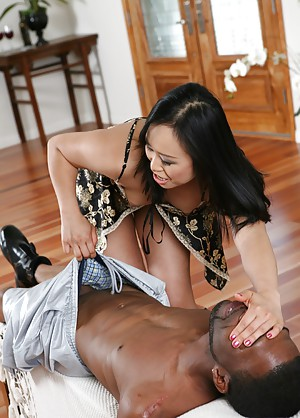 Asian Milf Interracial